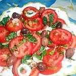 recette Salade de tomate a la marocaine