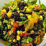 recette Salade mexicaine aux haricots noirs