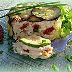 recette Mousse de thon en habit vert