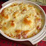 recette gratin de crozets au jambon et fromage à raclette