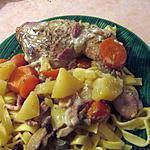 recette Blanquette de poulet confite