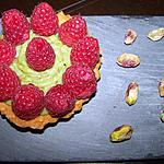 recette Tartelette Framboise / Pistache