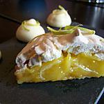 recette Tartelette au citron meringuée