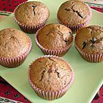 recette Muffins au carambar et aux pépites de chocolat