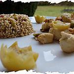 recette Ooo Riz Poussin façon risotto & poulet aux saveurs d'orient ooO