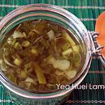 recette Huile d'oignon vert