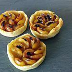 recette Tartelettes aux mirabelles