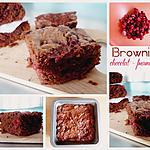 recette Brownies chocolat – framboises