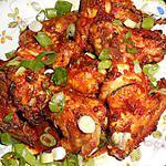 recette Ailerons de poulet aux épices colombo
