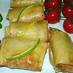 recette Nems farçi(e)s  au boeuf ou poulet