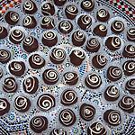 recette Les escargots aux chocolats