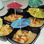 recette Compotée de poires au caramel beurre salé