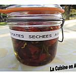 recette Tomates séchées ou confites
