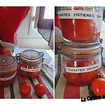 recette Conserves de tomates entières