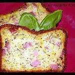 recette Cake courgettes et jambon