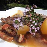 recette Joues de porc confites au cidre