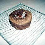 recette Moelleux chocolat noir au coeur blanc