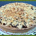 recette Tarte crumble aux prunes
