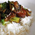 recette Porc au brocolis
