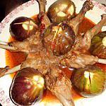 recette Manchons de canard aux figues