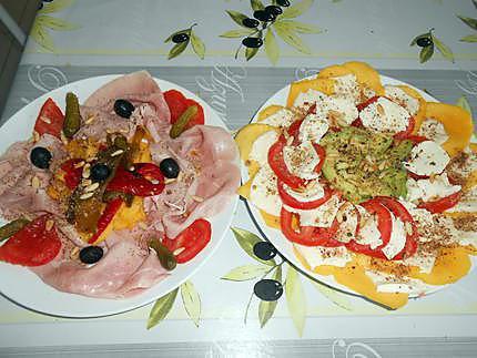 Petite salade au jambon 430