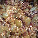 recette Pomme de terre au chorizo