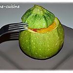 recette Courgette farcie à la semoule