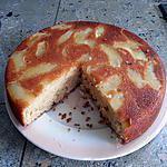 recette Moelleux aux pommes (renversé !!)