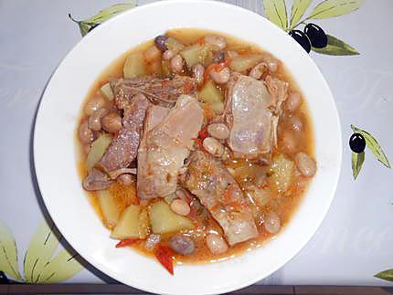 soupe d'agneau, coco frais et pommes de terre 430