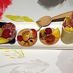 recette Brochette Apéritive De Charcuterie & Fruit Vinaigrés