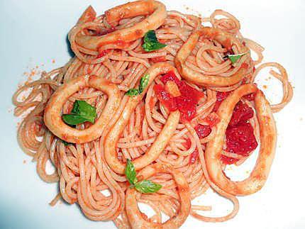sauce calamar (pour pates ou riz) 430