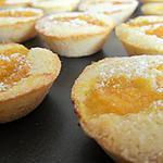 recette Bouchées fondantes Amande / Abricot
