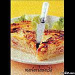 recette Quiche au reblechon et au jambon de montagne