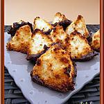 recette Rochers vanille-coco au chocolat