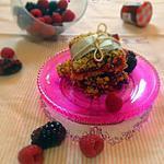 recette Streusel Bars aux Fruits Rouges