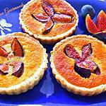 recette Tartelette Amandine aux Figues Fraîches et au Pavot