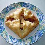 recette Carré feuilletée aux pommes et cannelle