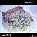 recette travers de porc à la bière et ses pommes de terrre