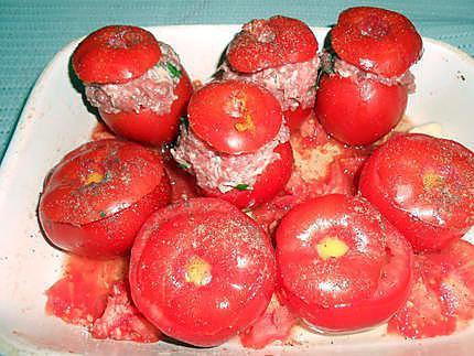 Duo de petites tomates farcies 430