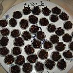 recette Les rochers de chocolat