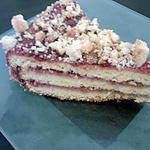 recette Gâteau au streusel et à la confiture