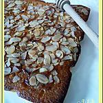 recette Cake au miel et aux amandes