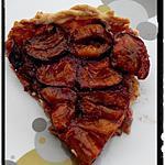 recette tarte aux quetsche-cannelle
