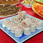 recette Galettes roulées au saumon et creme fraiche