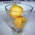 recette Sorbet mangue, orange, pamplemousse