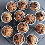 recette Muffins aux éclats de chocolat noir