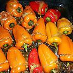 recette Mini poivrons farcis au thon
