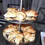 recette Croissants feuilleté saumon fromage