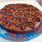 recette brownie aux quetsches et éclats d'amande