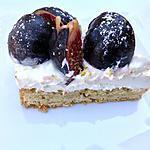 recette Chesecake sans cuisson aux figues et pistaches